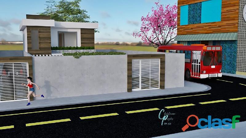 Lindas casas independentes ogiva bairro nobre   03 quartos