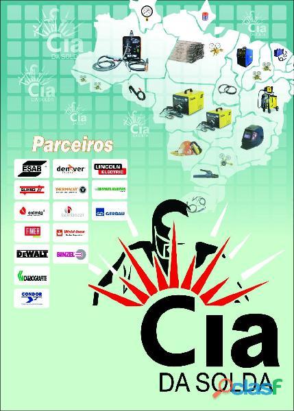 A cia da solda uma empresa especializada em venda de produtos para indústria