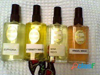 Kit 4 perfumes contratipos inspirados 100 ml.