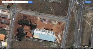 Terreno com galpão 02 casas e escritório