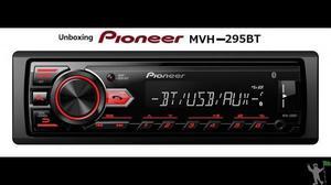 Toca cd pioneer dehx 1050-ub - usb com controle modelo novo,