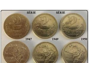 Compro moedas de bronze 2 cruzeiros pago até r$70 o kg-sp