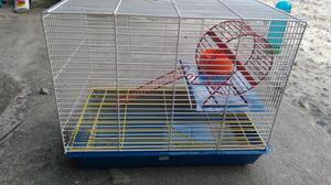 Gaiola para hamster em ótimo estado de conservação