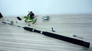 Kit pesca molinete dakar 3000 com vara de pesca star marine