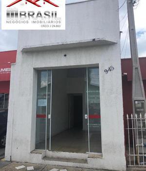 Sala comercial para locação na cidade nova