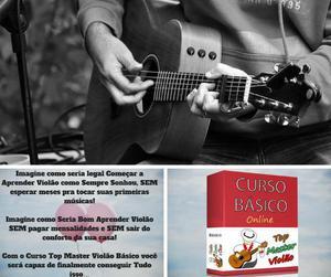 Curso básico de violão (curso online com bônus diversos)