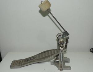 Pedal para bateria wolfdrums - semi novo