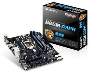 Placa mãe gigabyte ga-b85m-d3ph 4ª geração intel - *leia