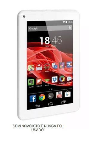 Tablet m7 quad core dual chip 3g 8gb 7 pol branco multilaser