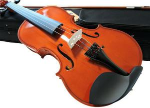 Violino barth violin 4/4 solid wood + estojo bk + arco +