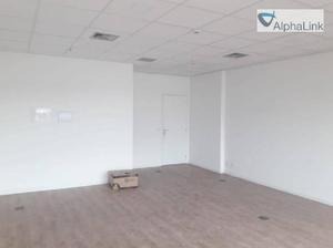 Sala comercial new worker tower 44 m² - alphaville centro