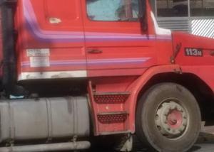 Scania 113 360 engatado carreta bitrem 1996