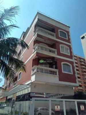 Apartamento para locação, vila tupi, praia
