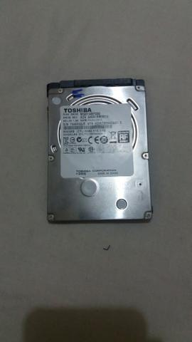 Hd notebook 500gb toshiba