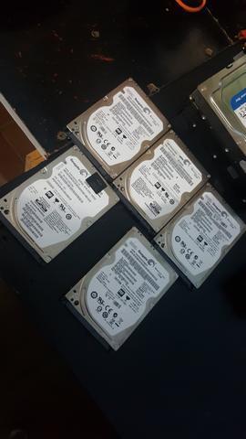 HD notebook slim 320GB semi novo