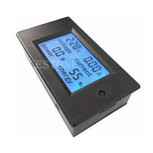 Medidor de energia ac 80-260v 20a lcd digital, volt watt
