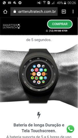 Relógio smatter ultratech *app.mo