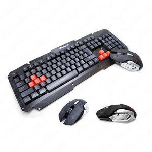 Teclado sem fio kit teclado e mouse gamer sem fio jp-t2000 -