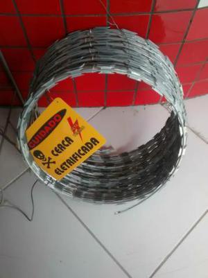 Cerca elétrica concertina vendas instalação manutenção