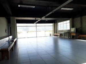 Cobertura 500 m² comercial, vestiários e refeitório,