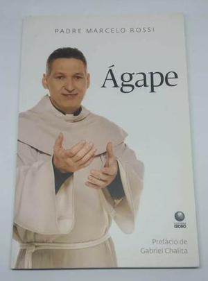 Dois livros: mensagens de luz ana maria braga / agape