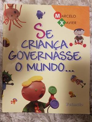 Livro se criança governasse o mundo.