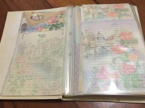 Papéis de carta - coleção