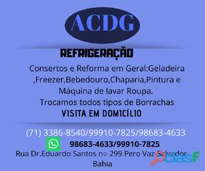 Acdg refrigeração conserto de freezer