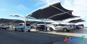 Estacionamento Coberto 700 m² no Centro de Santo André.