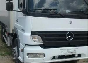 Mercedes atego 2428 baú sider