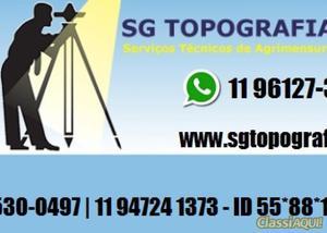 Serviço de topografia georreferenciamento, locação para