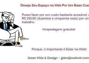 Serviços web & design ~ seu site na web por um preço