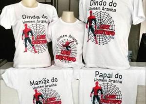 Camisetas personalizadas masculinas femininas e infantl.