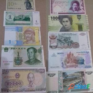 20 Cédulas 6 Venezuela 2 China 12 Outros Países + Brinde