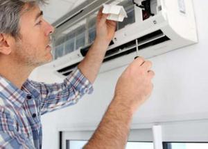 Instalação ar condicionado -