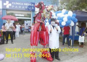 Locutor de loja, clinicas medicas, odontológicas, açougues