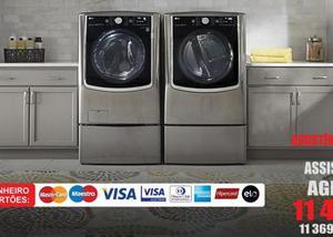 Manutenção lg máquina secar roupas nacional e importado