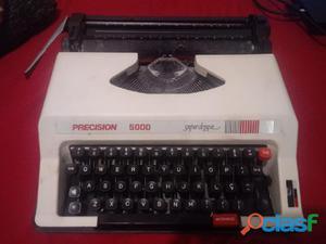 Maquina de escrever precision 5000 super de luxe automatic