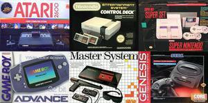 Compro jogos e consoles da nintendo, sega e atari
