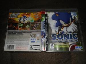 Jogo sonic the hedgehog ps3 mídia física usado em perfeito