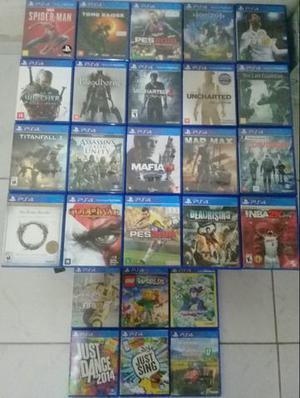 Jogos de ps4 ps3 e xbox one