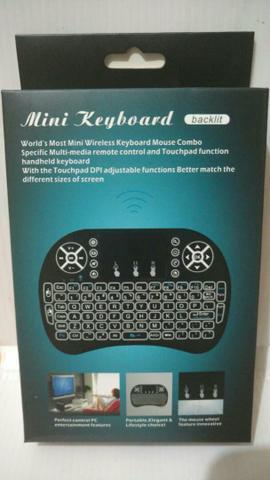 Mini keyboard backlite - pc, tv, tablets, smartphones