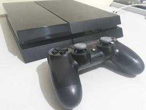 PS4 modelo fat 500GB - 1 controle - 1 jogo à escolha /