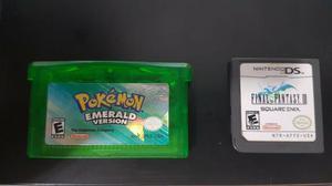 Pokemon emerald + final fantasy iii - nintendo ds