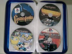 Vendo 25 jogos de ps1 e ps2 usados!