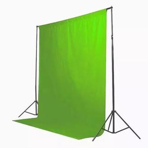 1 tecido 3x2 verde estudio foto fundo infinito chroma key
