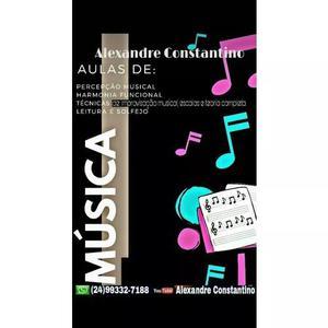 Aulas de instrumentos musicais