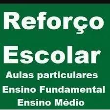 Aulas particulares literatura, português, geografia...