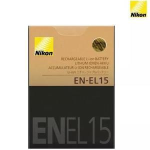 Bateria nikon en-el15 original el15 d7000 d810 d7100 d7200