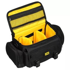 Bolsa câmera fotográfica dslr/canon/nikon/sony